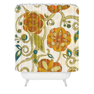 Valentina Ramos Polyester Flowers Shower Curtain