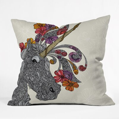 DENY Designs Valentina Ramos Unicornucopia Polyester Throw Pillow