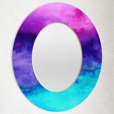 DENY Designs Jacqueline Maldonado The Sound Oval Mirror