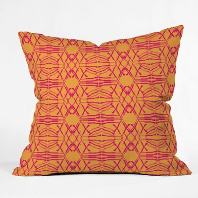 Pattern State Woven Polyester Throw Pillow