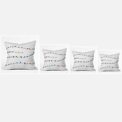 DENY Designs Belle 13 Happy Spring Throw Pillow