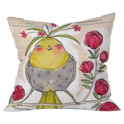 DENY Designs Cori Dantini Sweetness and Light Woven Polyester Throw Pillow