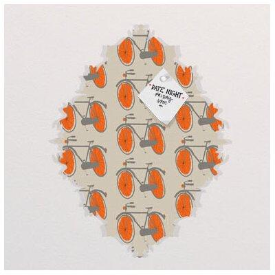 DENY Designs Mummysam Bicycles Baroque Memo Board