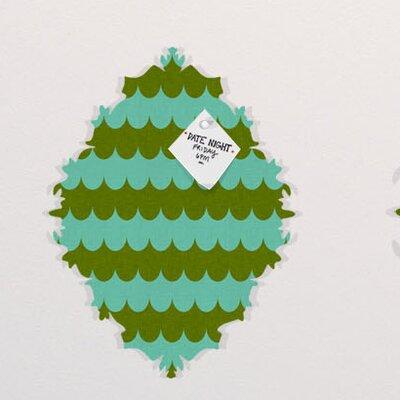 DENY Designs Holli Zollinger Waves of Color Baroque Bulletin Board