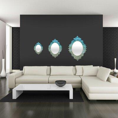 DENY Designs Shannon Clark Ombre Sea Baroque Mirror
