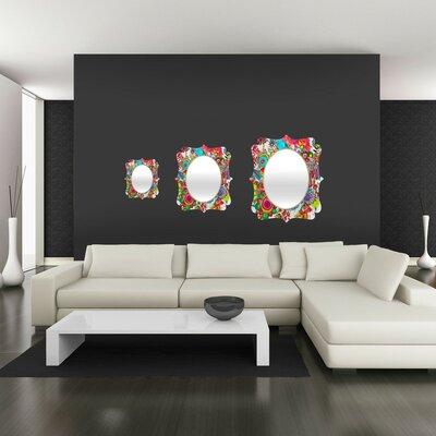 DENY Designs Stephanie Corfee Miss Penelope Quatrefoil Mirror