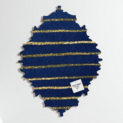DENY Designs Social Proper Nautical Sparkle Memo Board