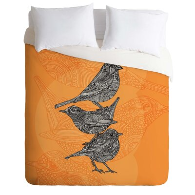 DENY Designs Valentina Ramos 3 Little Birds Duvet Cover Collection
