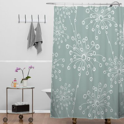 DENY Designs Rachael Taylor Polyester Quirky Motifs Shower Curtain