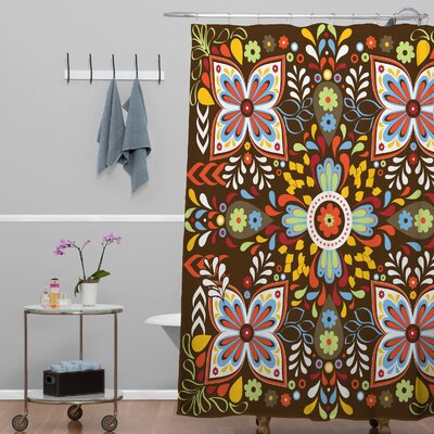 DENY Designs Khristian A Howell Polyester Wanderlust Shower Curtain