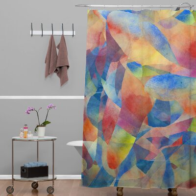 DENY Designs Jacqueline Maldonado Woven Polyester This Is What Your Missing Shower Curtain