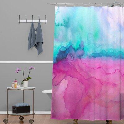 DENY Designs Jacqueline Maldonado Woven Polyester Tidal Color Shower Curtain