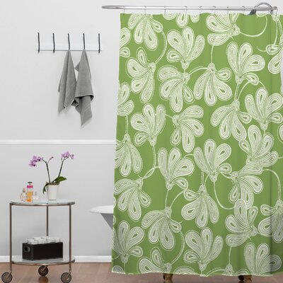 DENY Designs Khristian A Howell Woven Polyester Provencal Thyme Shower Curtain