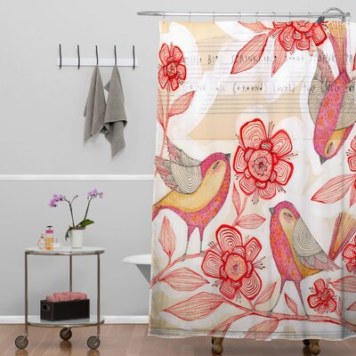 DENY Designs Cori Dantini Woven Polyester Sprinkling Sound Shower Curtain