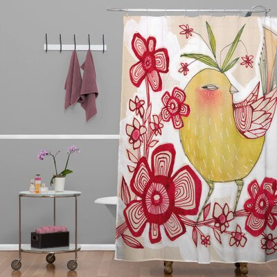 DENY Designs Cori Dantini Woven Polyester Sweetie Pie Shower Curtain
