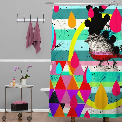 DENY Designs Randi Antonsen Polyester Luns Box 4 Shower Curtain