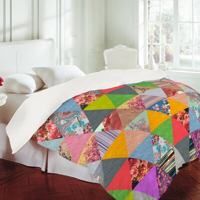 DENY Designs Bianca Green Lost in Pyramid Duvet Cover Collection
