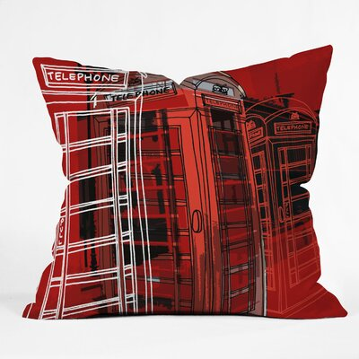 DENY Designs Aimee St Hill Phone Box Polyester Throw Pillow