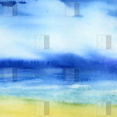 DENY Designs Jacqueline Maldonado Woven Polyester Sea Church Shower Curtain