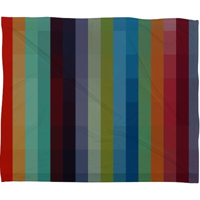 DENY Designs Madart Inc. City Colors Polyester Fleece Throw Blanket