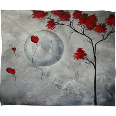 DENY Designs Madart Inc. Far Side Of The Moon Polyester Fleece Throw Blanket