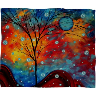 Madart Inc. Summer Snow Polyester Fleece Throw Blanket