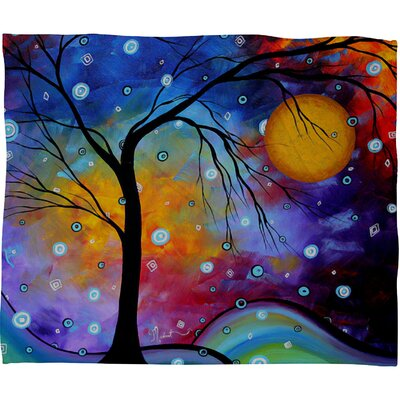 DENY Designs Madart Inc. Winter Sparkle Polyester Fleece Throw Blanket