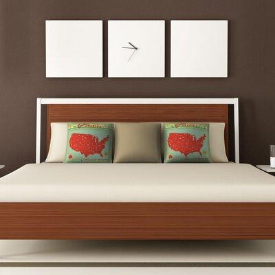 DENY Designs Anderson Design Group Explore America Woven Polyester Throw Pillow
