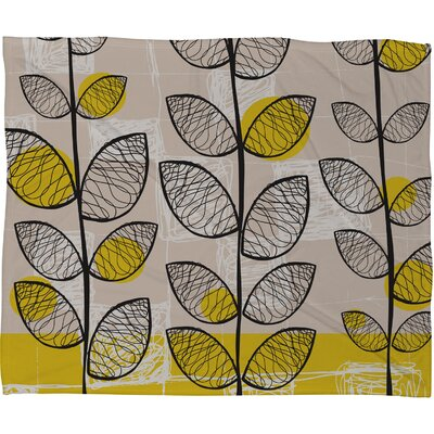 DENY Designs Rachael Taylor 50s Inspired Polyester Fleece Throw Blanket