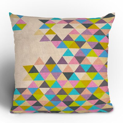 DENY Designs Bianca Green Completely Incomplete Woven Polyester Throw Pillow