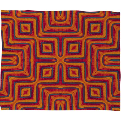 DENY Designs Wagner Campelo Sanchezia X Fleece Throw Blanket