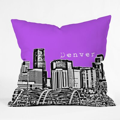 Bird Ave Denver Woven Polyester Throw Pillow
