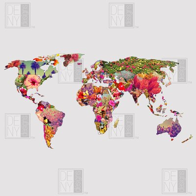 DENY Designs Bianca Green Its Your World Duvet Cover Collection