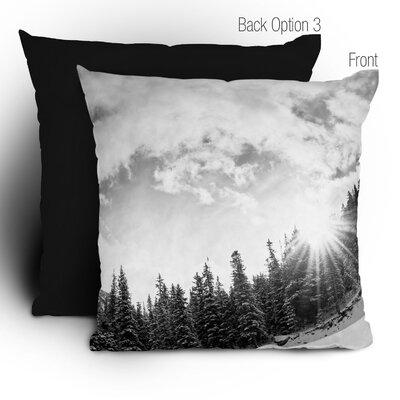 DENY Designs Bird Wanna Whistle Mountain Woven Polyester Throw Pillow