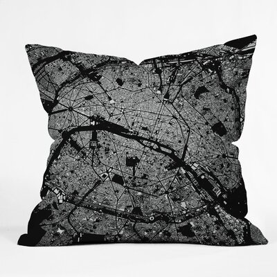 CityFabric Inc Paris Indoor/Outdoor Polyester Throw Pillow