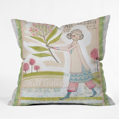 DENY Designs Cori Dantini Small Truths Indoor / Outdoor Polyester Throw Pillow