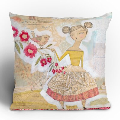 DENY Designs Cori Dantini The Secret to Happiness Woven Polyester Throw Pillow