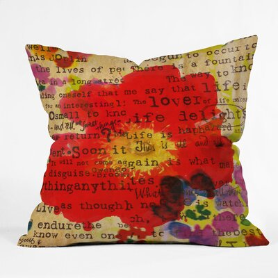 DENY Designs Irena Orlov Poppy Poetry 2 Throw Pillow