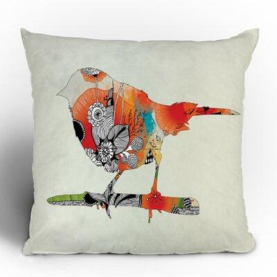 DENY Designs Iveta Abolina Little Bird Woven Polyester Throw Pillow