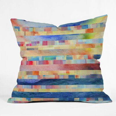 DENY Designs Jacqueline Maldonado Amalgama Indoor / Outdoor Polyester Throw Pillow