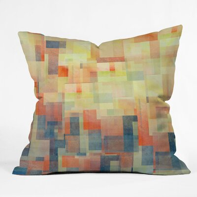 DENY Designs Jacqueline Maldonado Cubism Dream Indoor / Outdoor Polyester Throw Pillow