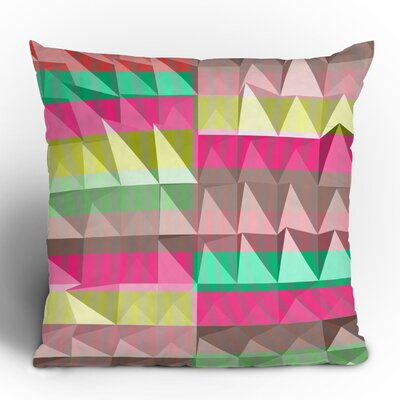 DENY Designs Jacqueline Maldonado Pyramid Scheme Polyester Throw Pillow