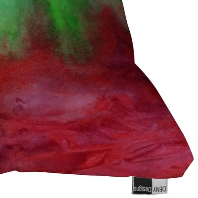 DENY Designs Jacqueline Maldonado The Red Sea Indoor / Outdoor Polyester Throw Pillow