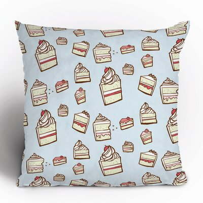 DENY Designs Jennifer Denty Cake Slices Polyester Throw Pillow