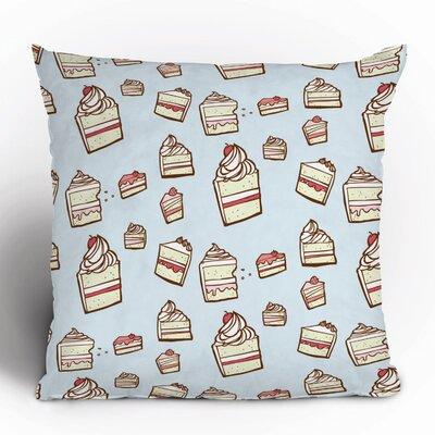 DENY Designs Jennifer Denty Cake Slices Polyester Throw Pillow