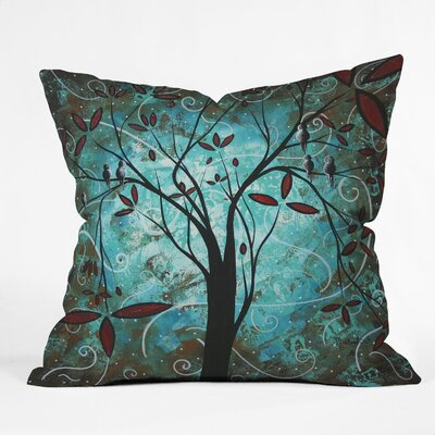 DENY Designs Madart Inc  Romantic Evening Indoor / Outdoor Polyester Throw Pillow