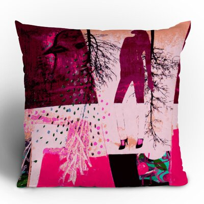 DENY Designs Randi Antonsen City 3 Woven Polyester Throw Pillow