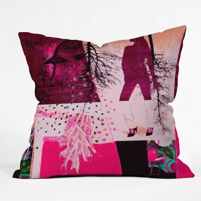 Randi Antonsen City 3 Woven Polyester Throw Pillow