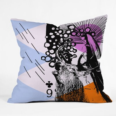 DENY Designs Randi Antonsen Poster Hero 3 Indoor/Outdoor Polyester Throw Pillow