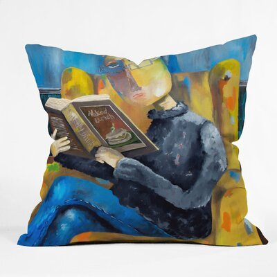 DENY Designs Robin Faye Gates Polyester at The End of The Fork Indoor / Outdoor Throw Pillow
